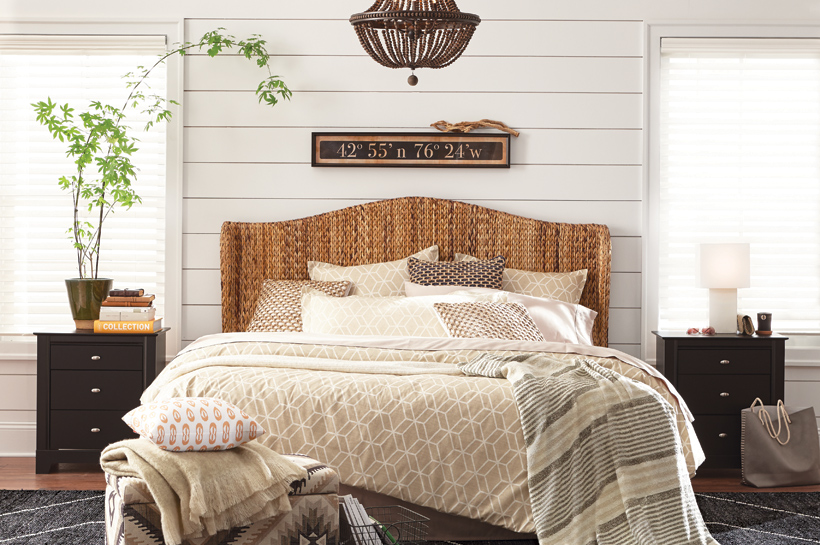 Farmhouse Bedroom for THD