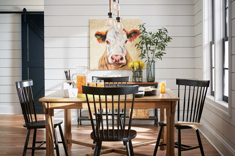 Farmhouse Dining for THD