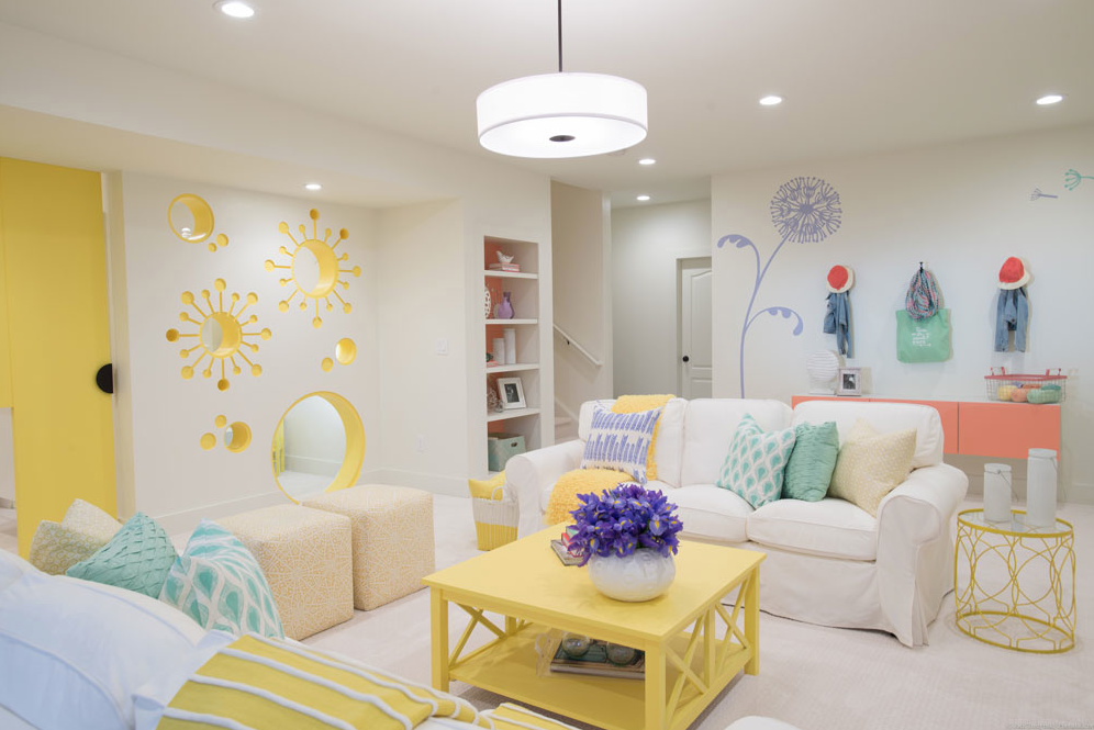 Playroom for HGTV's Elbow Room
