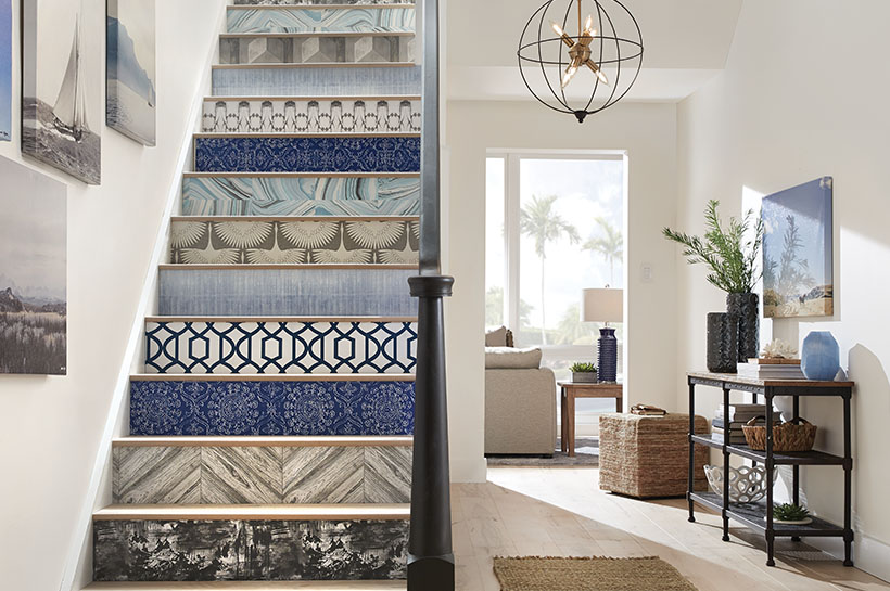 Eclectic Coastal Entry for THD