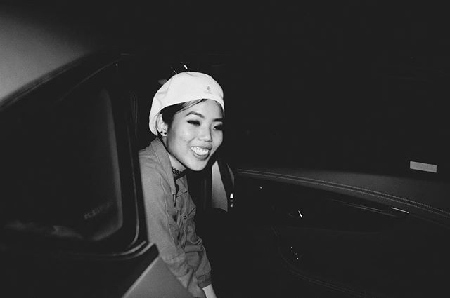 Life's a trip, carnal. 👀 . . . 📷 @wyattcrebs  #photography #bw #smile #vscocam #vsco #selfportrait #edit #ootd #weird #selfie #asian #tomboy #outfit #streetstyle #streetwear #culture #kangol #fun #tbt #tuesday #throwback #takemeback #vacation #lifestyle #losangeles #la #summertime #adventures #crew #squad