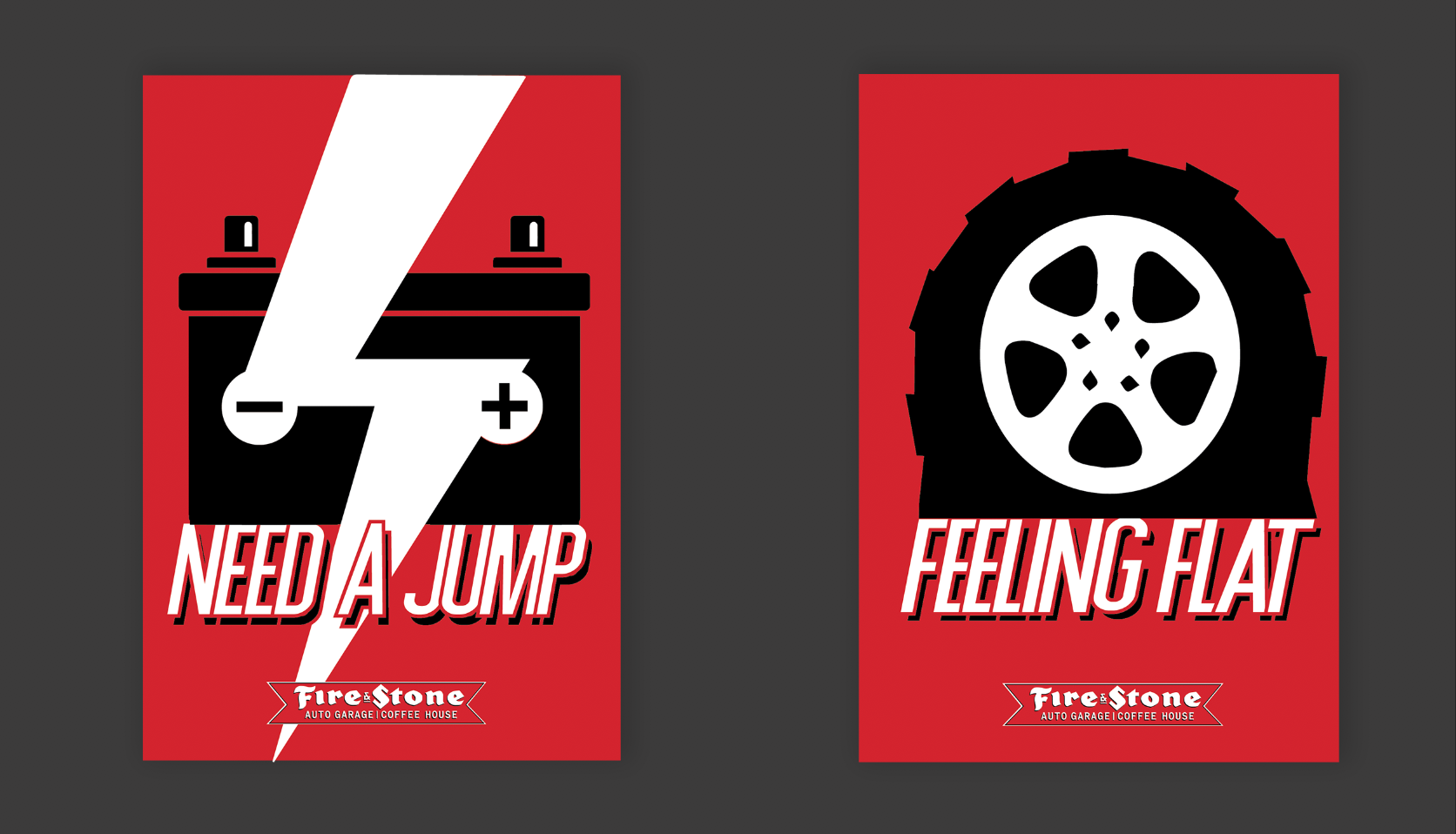 Poster designs.