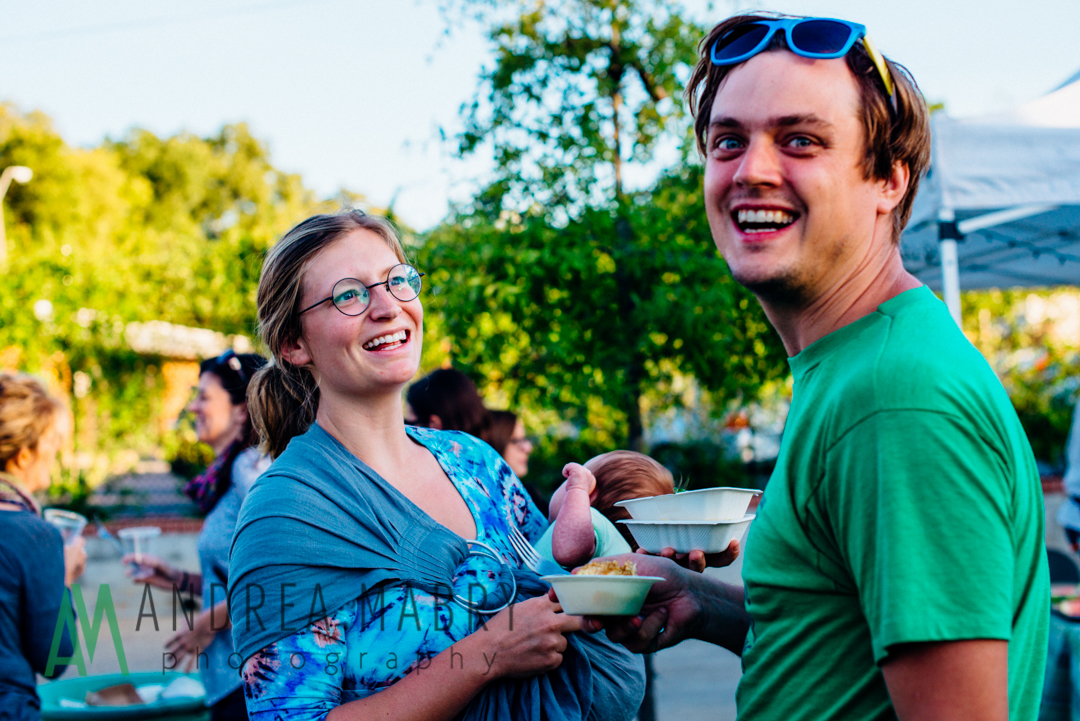 The Alabama Sustainable Agriculture Network hosted local farmers, chefs, and diners for their Graze: Birmingham fundraiser at Avondale Brewing Company. Photo: Andrea Mabry.