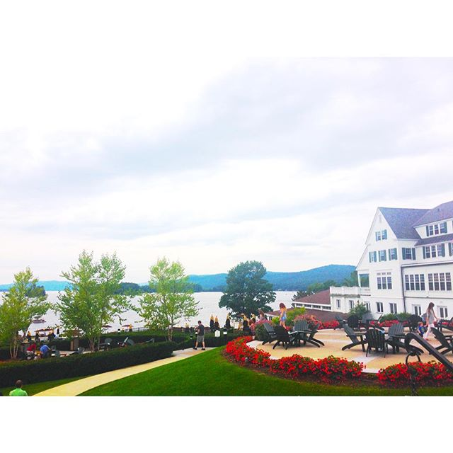 Today's office 😍  #dualcitizen #saturday #lakegeorge #dualcitizentravels #thesagamore #work #ny #newyork