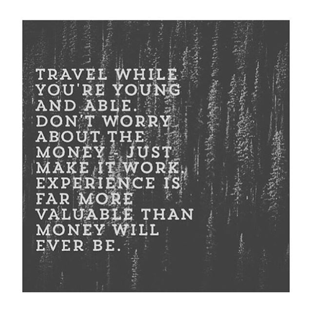 Truth ✈️ 🌎✈️🌎 #dualcitizen #travel #experience #wanderlust #value #world #travelnoire #global #wednesday #explore #quotes #inspiration #newyork #nyc #cntraveler