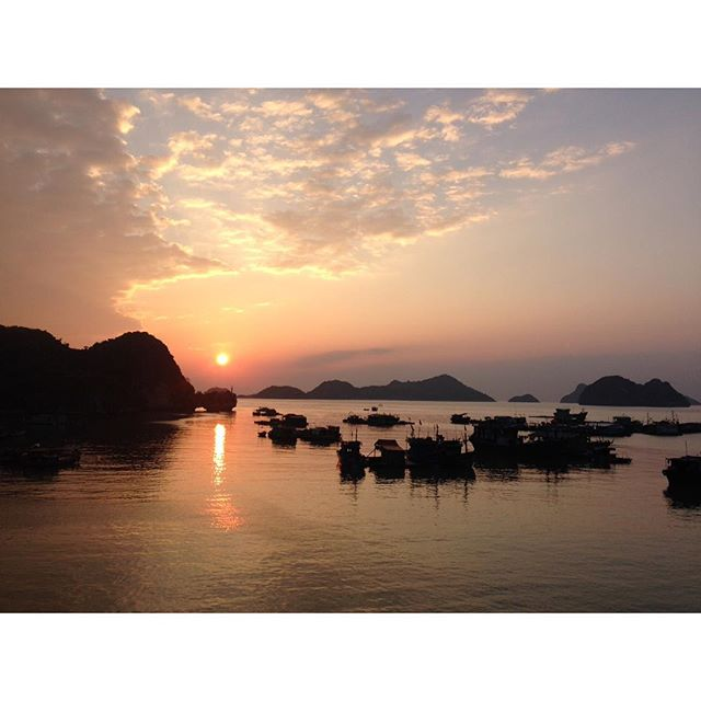 Winding down on an eventful 2015 🌅  Cat Ba Island, Vietnam  #dualcitizen #dualcitizentravels #thankful #reflection #travel #beauty #wanderlust #travelnoire