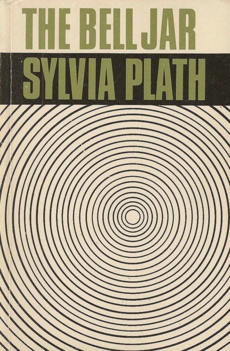 Shirley Tucker's 1966 cover for  The Bell Jar
