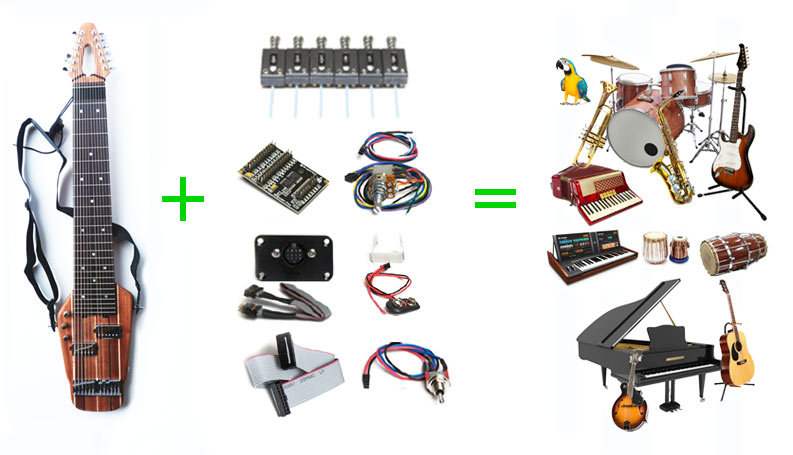 midi for stick players
