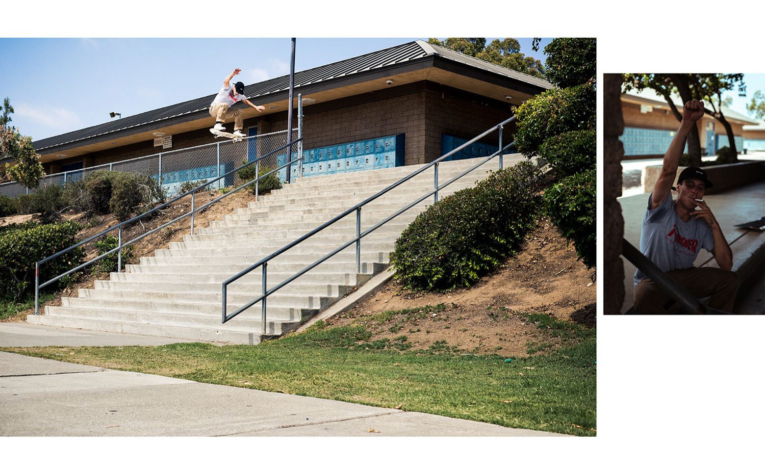 Nick Merlino - Riding the Duffel Graphic Switch Ollie El Toro - Photo: Alex Papke