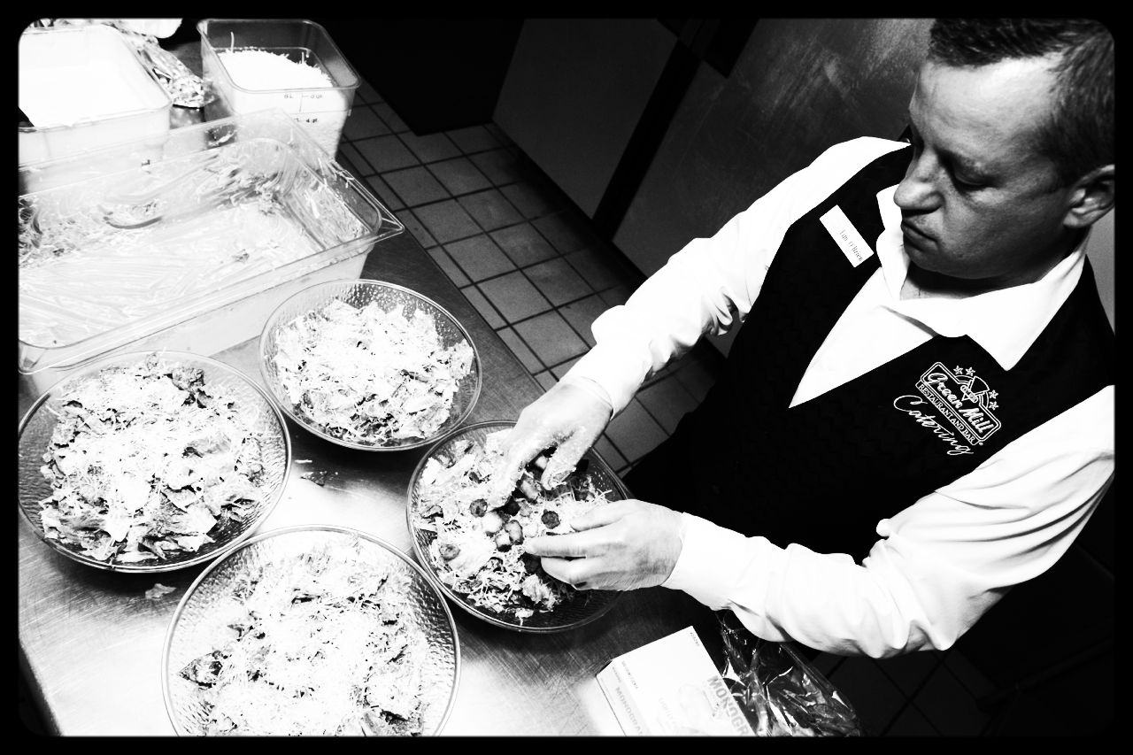 Tim O'Brien (Hastings, MN) positions Green Mill as the #1 caterer in Southeast metro. Image by LocalPigeon.