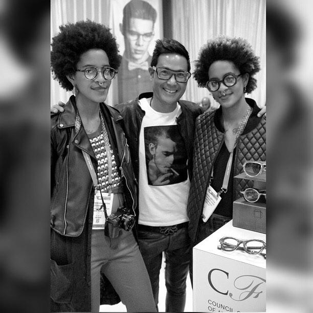 @cfda for #eyewear with @blakekuwahara and @cocoandbreezy in #NYC #cfda #LocalPigeon