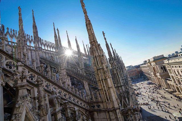 #Milan #Italy #duomodimilano #sonya7rii #beautifuldestinations #sonyimages #LocalPigeon