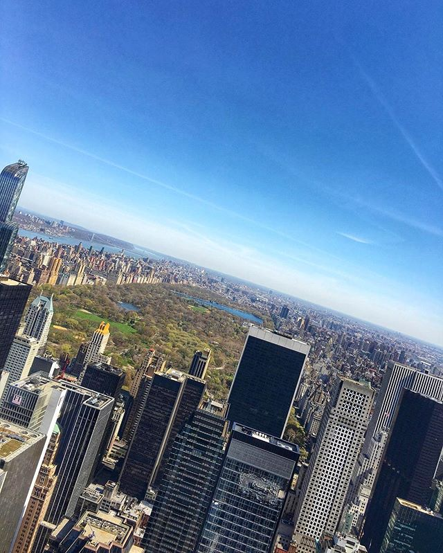 #NYC #iPhone6s #centralpark #topoftherock