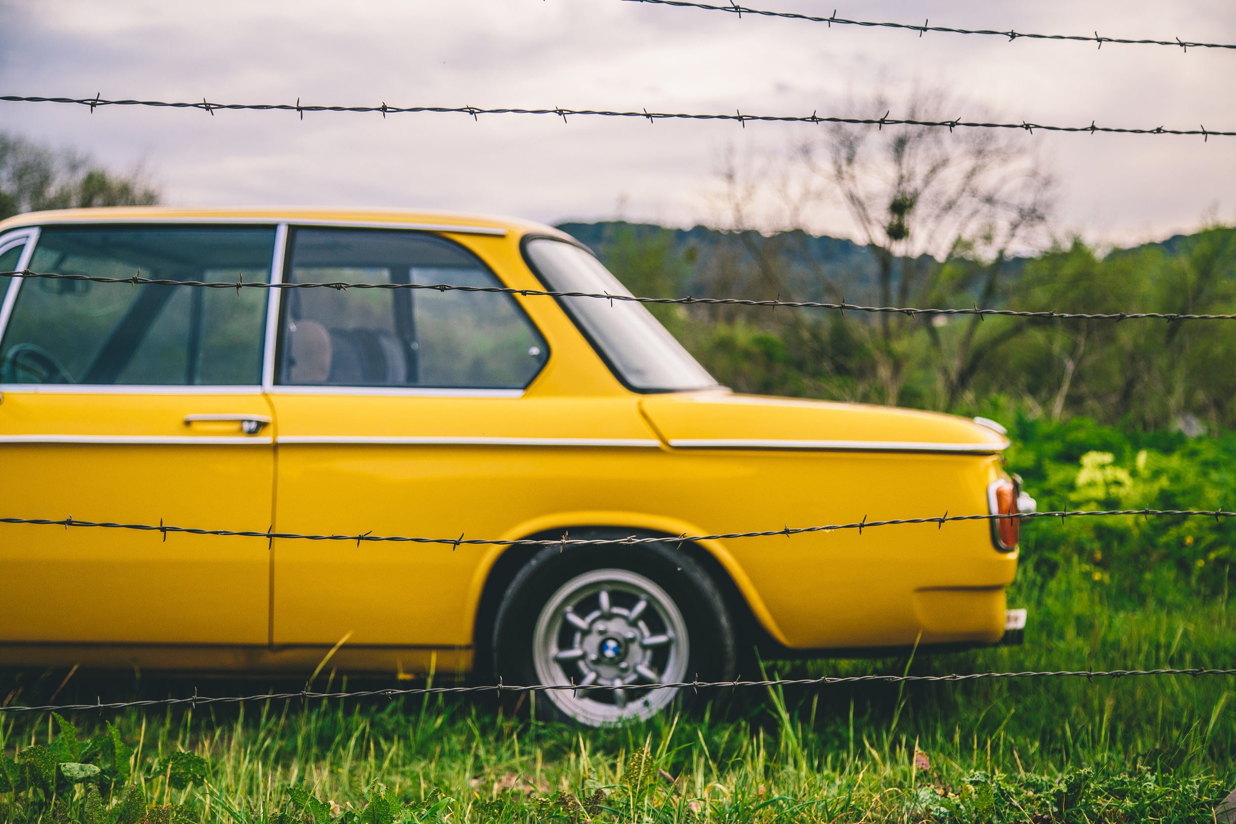 This is one of very few cars that bright yellow paint is acceptable on...