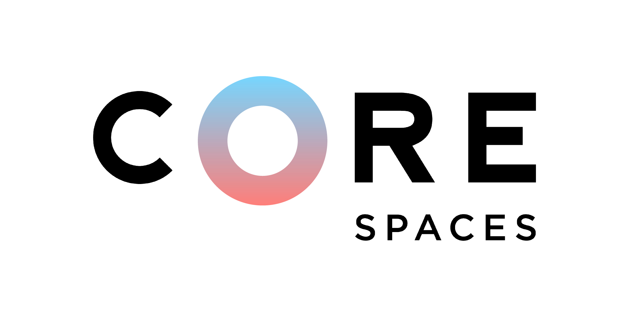 Core Spaces logo for Farm-To-Turntable event by Herban Produce of Chicago, Illinois.