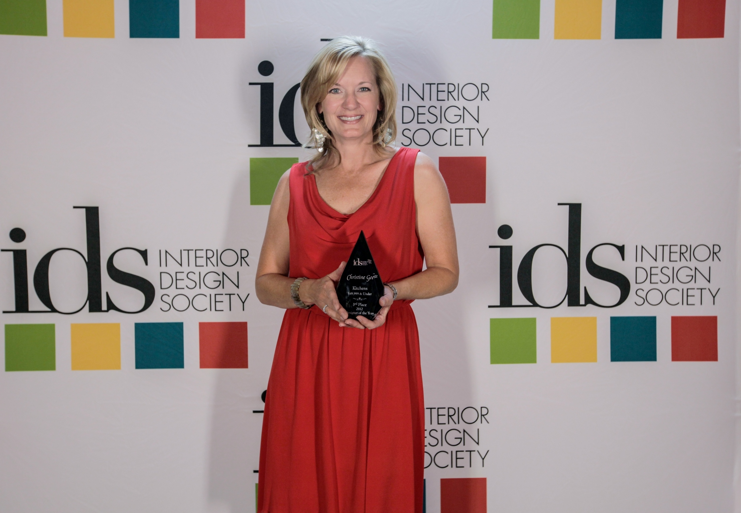 Awarded 2012 Designer of the Year