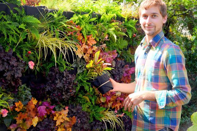 Brandon Pruett, Living Green Design, Florafelt System