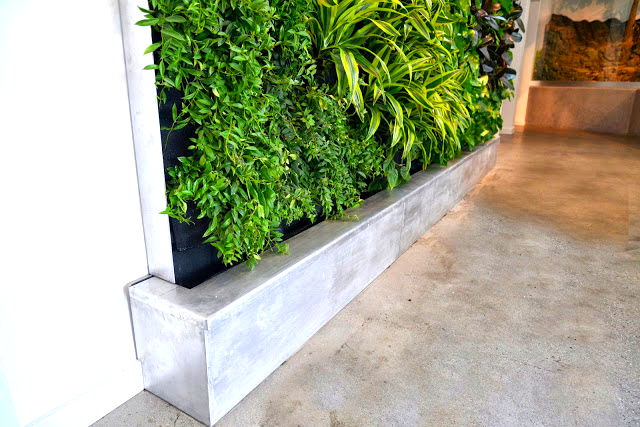 Florafelt Recirc Vertical Garden System, San Francisco Bay Aquarium