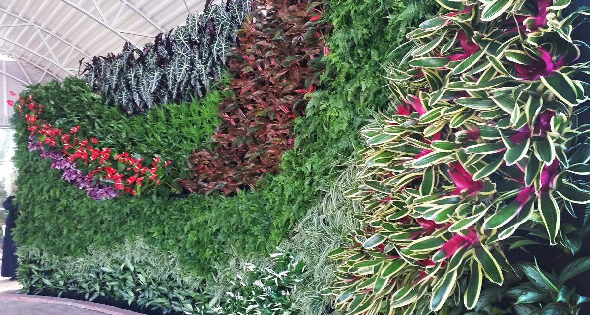 Nawaf Al-Bash, Terra Garden, Bayan Palace Vertical Garden, Florafelt System