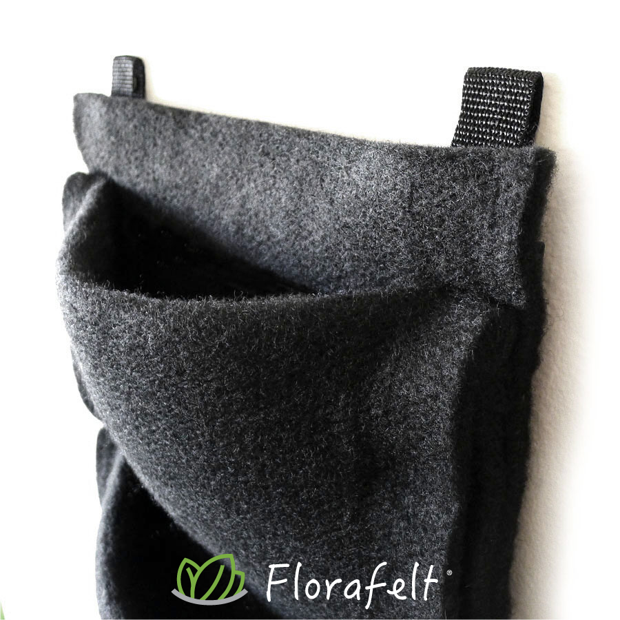 Florafelt 4-Pocket Panel Living Wall System.