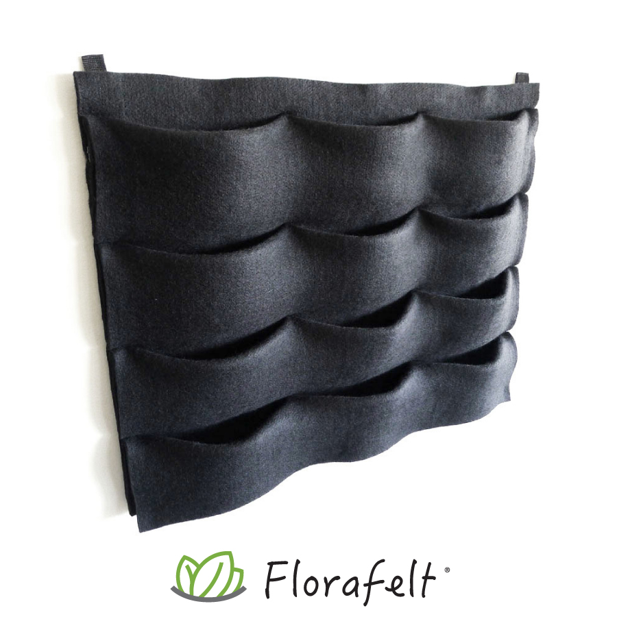 Florafelt 12-Pocket Panel Living Wall System.