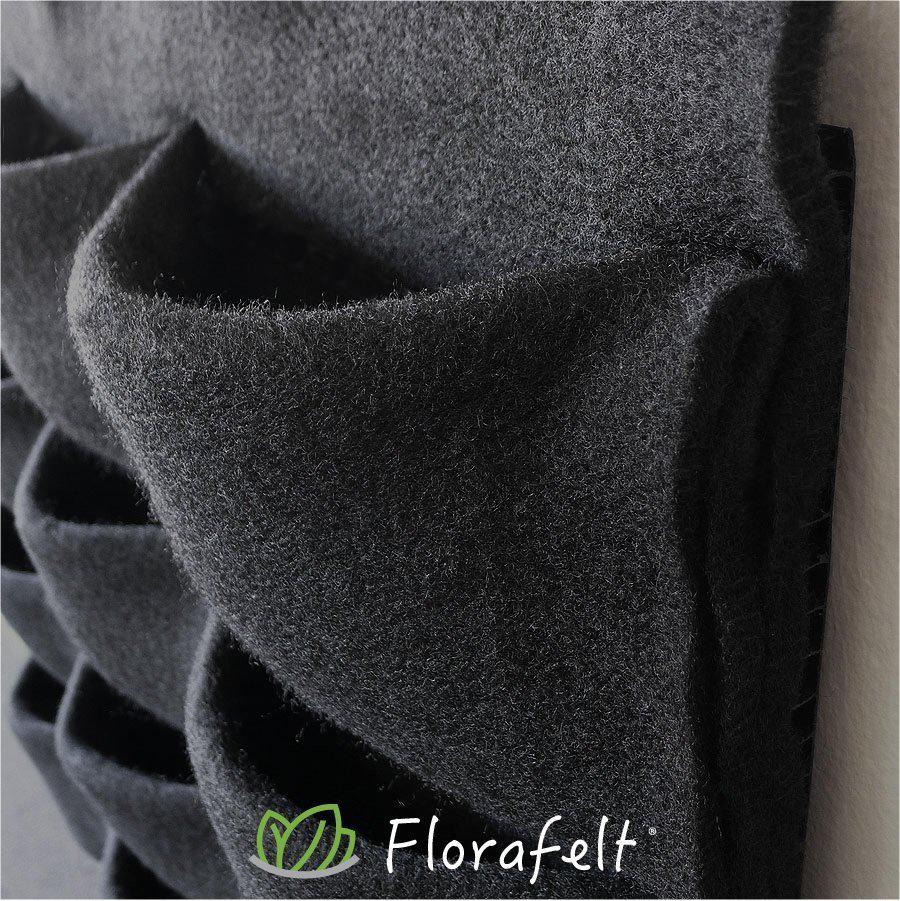 Florafelt 12-Pocket Panel Living Wall System Close