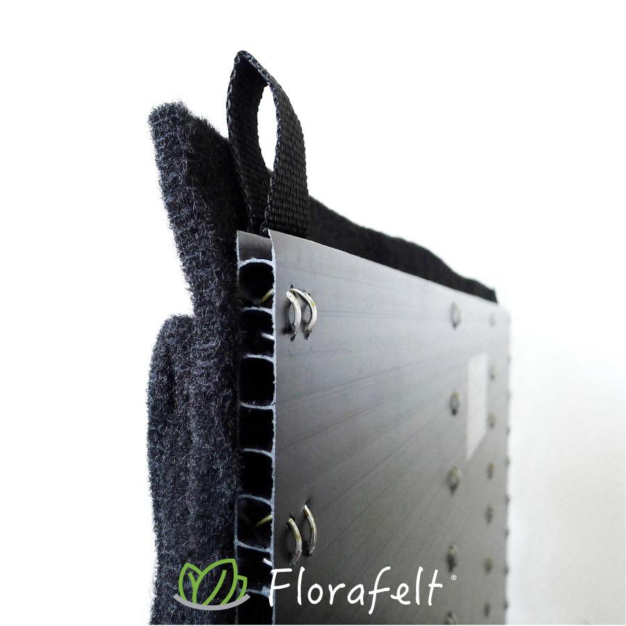 Florafelt 12-Pocket Panel Living Wall System Back