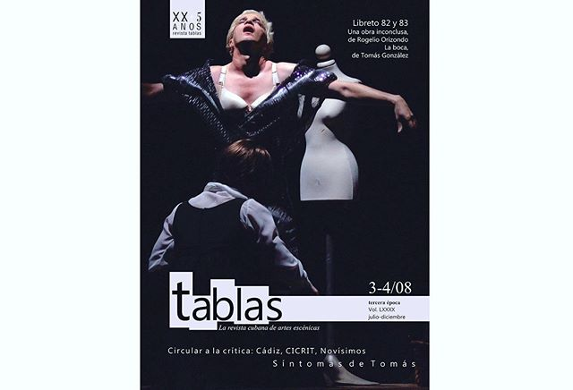 My previous post reminded me of my playwriting studies so long ago in Havana. I like to think that my photography work incorpores some theater elements acquired during my years at drama school. I'll be sharing some of my earlier work related. This is the cover made for Tablas magazine and some of the photos made of The Bitter Tears of Petra von Kant by Teatro El Publico, directed by Carlos Diaz.