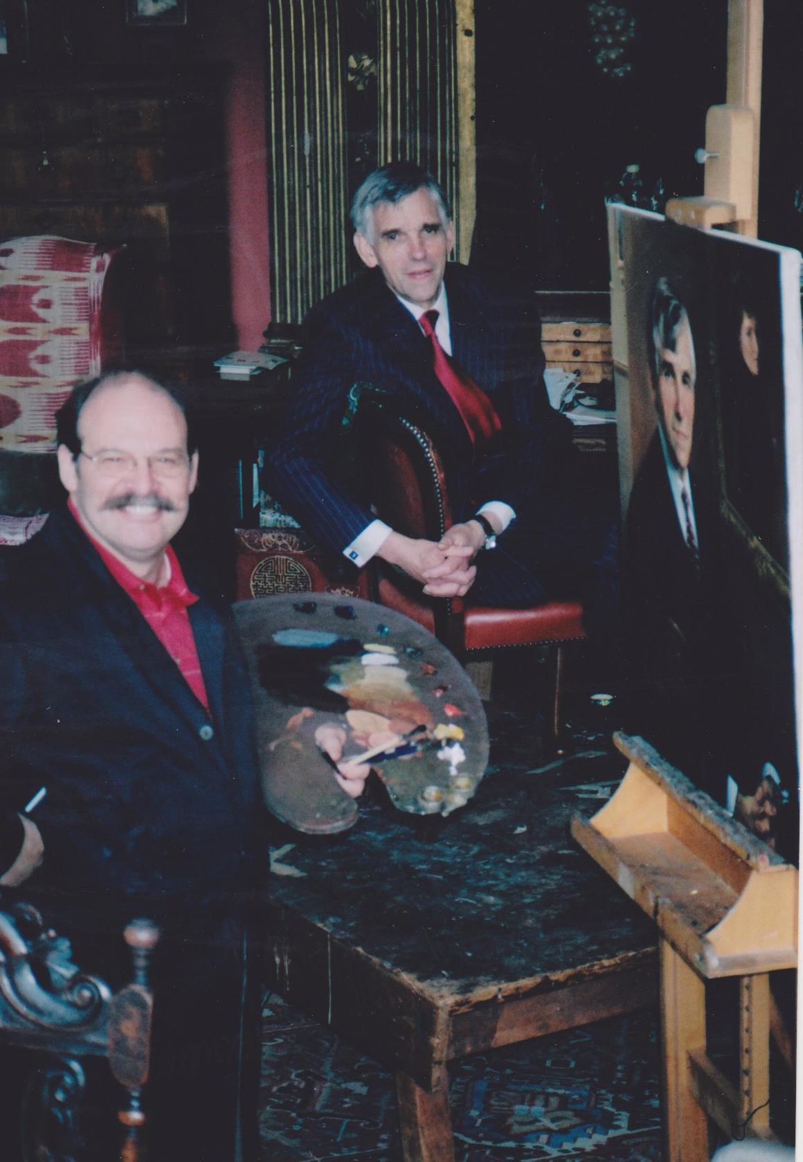 Del-Priore-painting-George-Orman-in-Sergant-Sudio.jpg