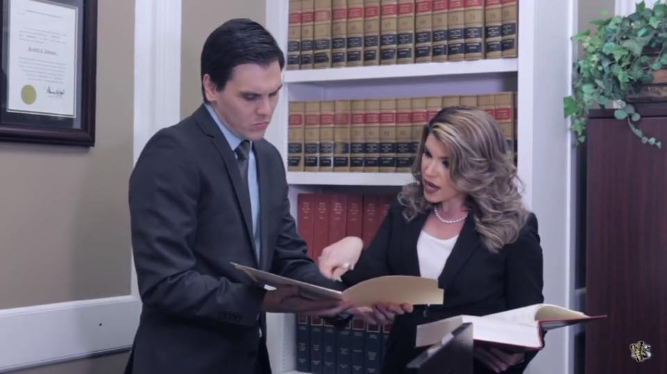 Paralegal Senior, George Benitez and Attorney Lisette Cardo