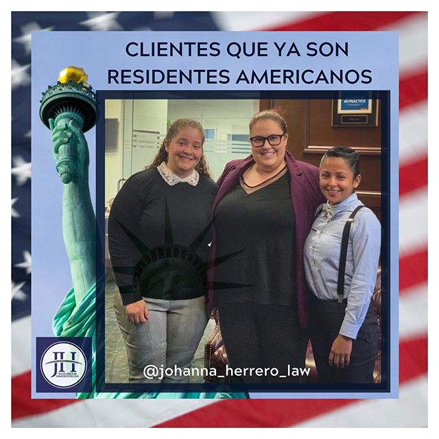En JOHANNA HERRERO & ASOCIADOS VOLVIMOS A GANAR! Como siempre nos llena de inmensa alegria que nuestros clientes logren su Estatus Legal en USA. La experiencia y tenacidad de nuestra abogada de inmigracion KENDELL JOHNSON y el trabajo en equipo nos vuelven a dar los mejore resultados. Felicidades! TU TAMBIEN PUDIERAS LEGALIZARTE  Tu consulta de inmigración GRATIS: 📲 Miami 786-500-1200 📲 Boston 617-720-5200 📧 jh@jherrerolaw.com 🌐 www.hcley.com . . .  #johannaherreroyasociados #abogadajohannaherrero #inmigracion #inmigración #immigration #residenciapermanente #greencard #legal #inmigrantelegal #ciudadanía #abogadosdeinmigracion #abogadasdeinmigracion #argentinosenmiami #colombianosenmiami #cubanosenmiami #venezolanosenmiami #miami #boston