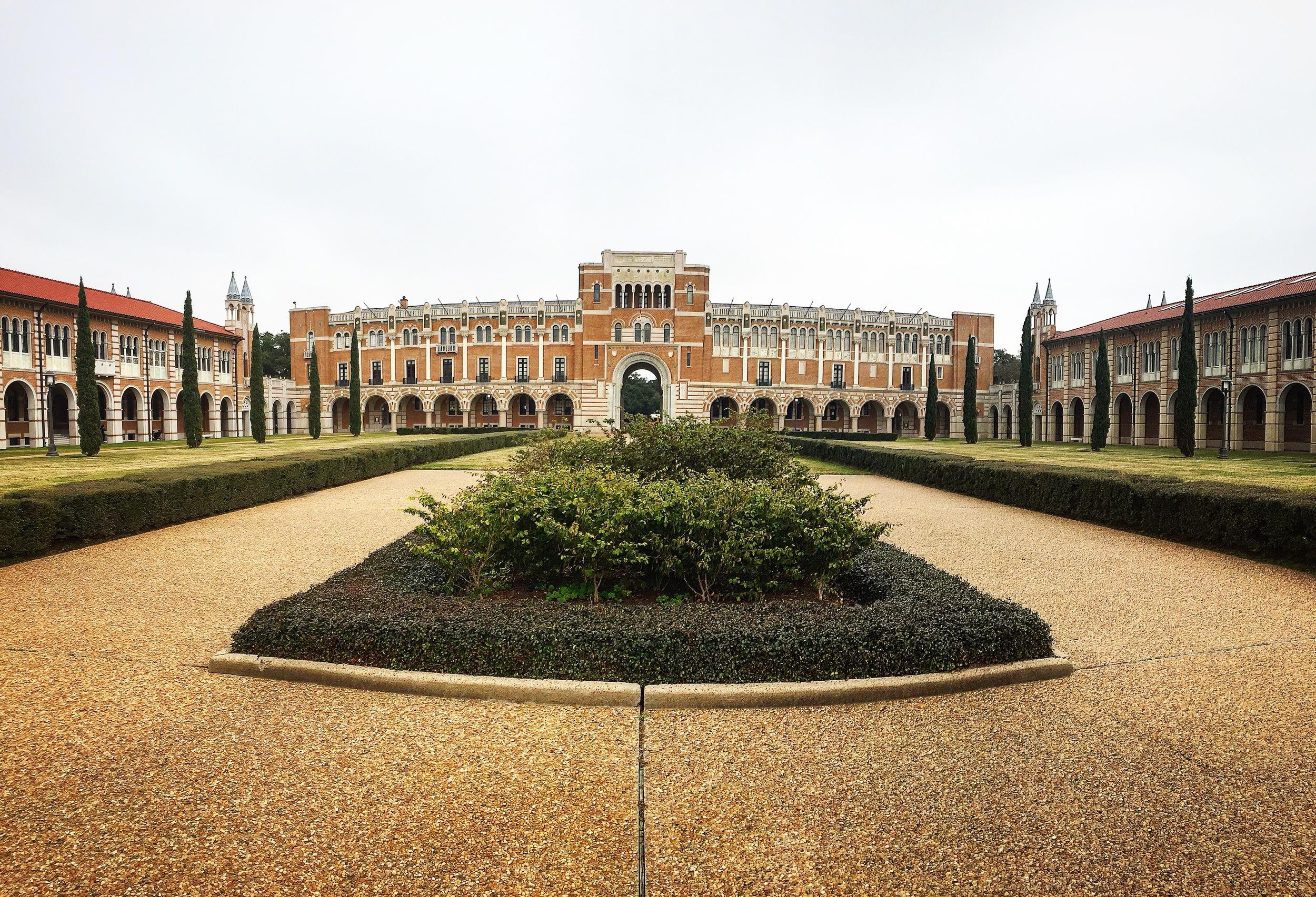 La Universidad de Rice en Houston, Texas - Yo Mariana Blog