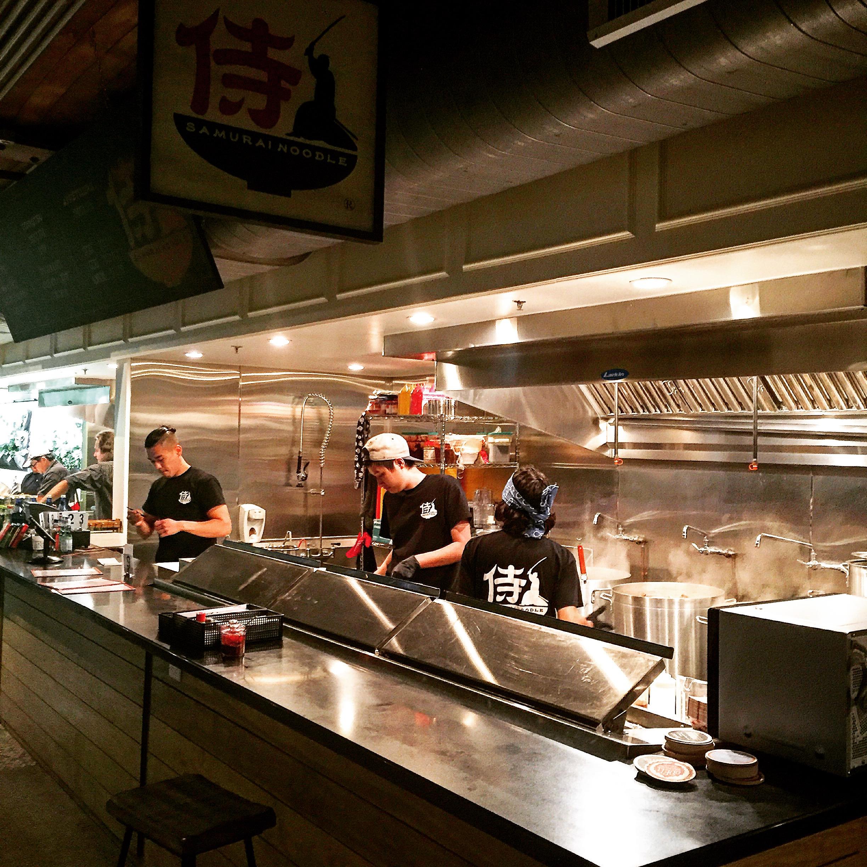 Samurai Noodles - yomarianablog