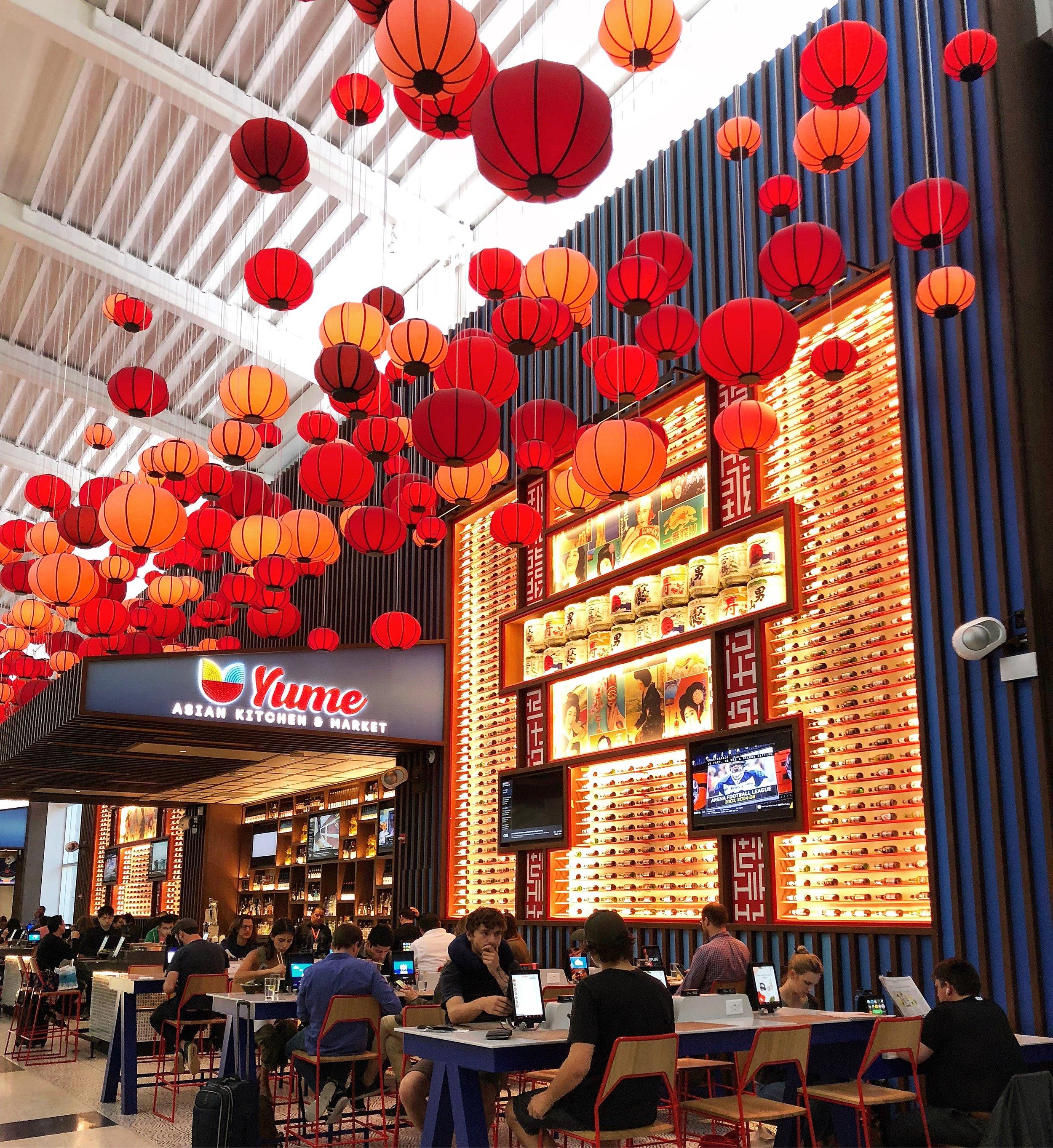 Restaurant yume at terminal e IAH photo by yomarianablog