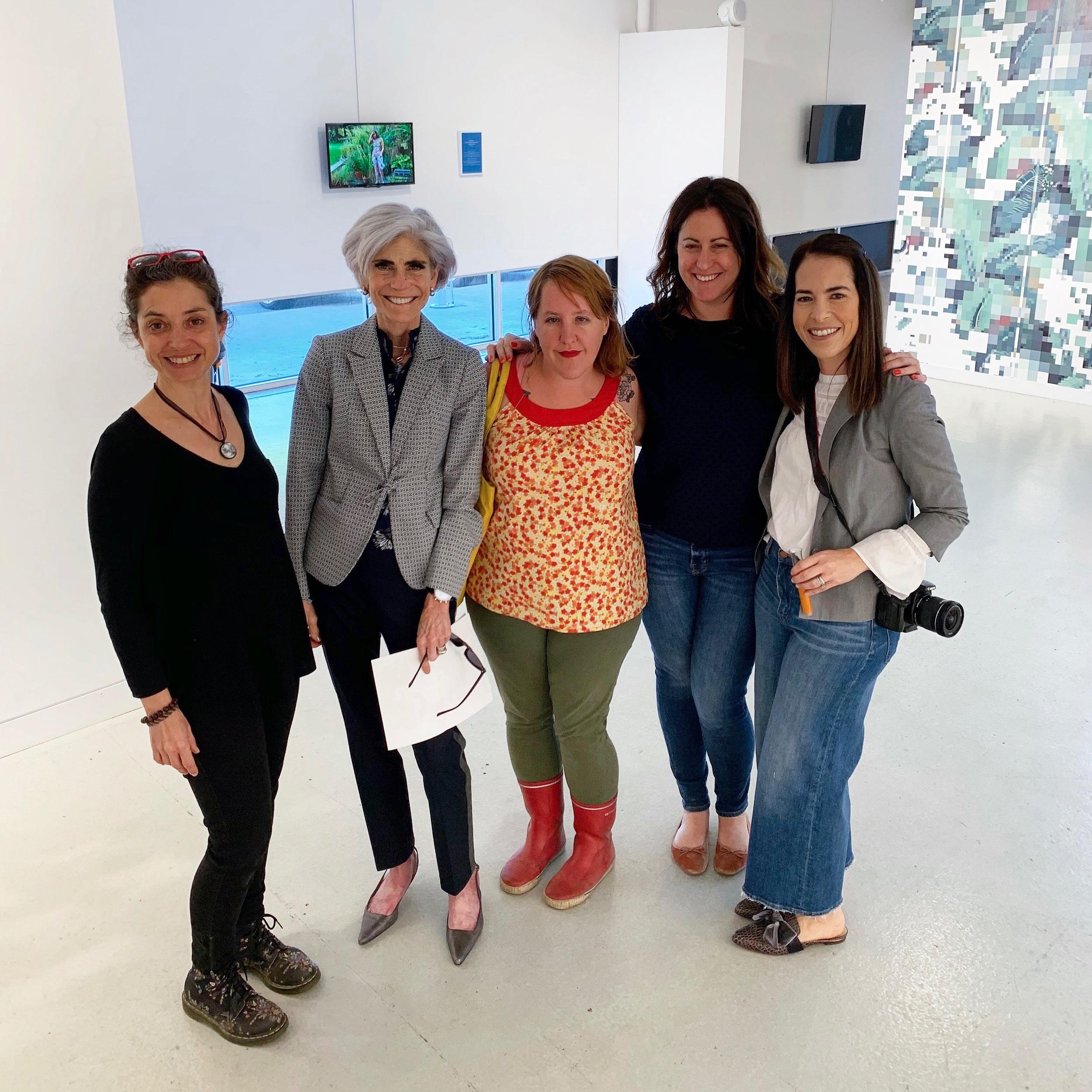 Anne Houang, Judy Nyquist, Ceci Norman, Laura Matesco & Mariana Cano