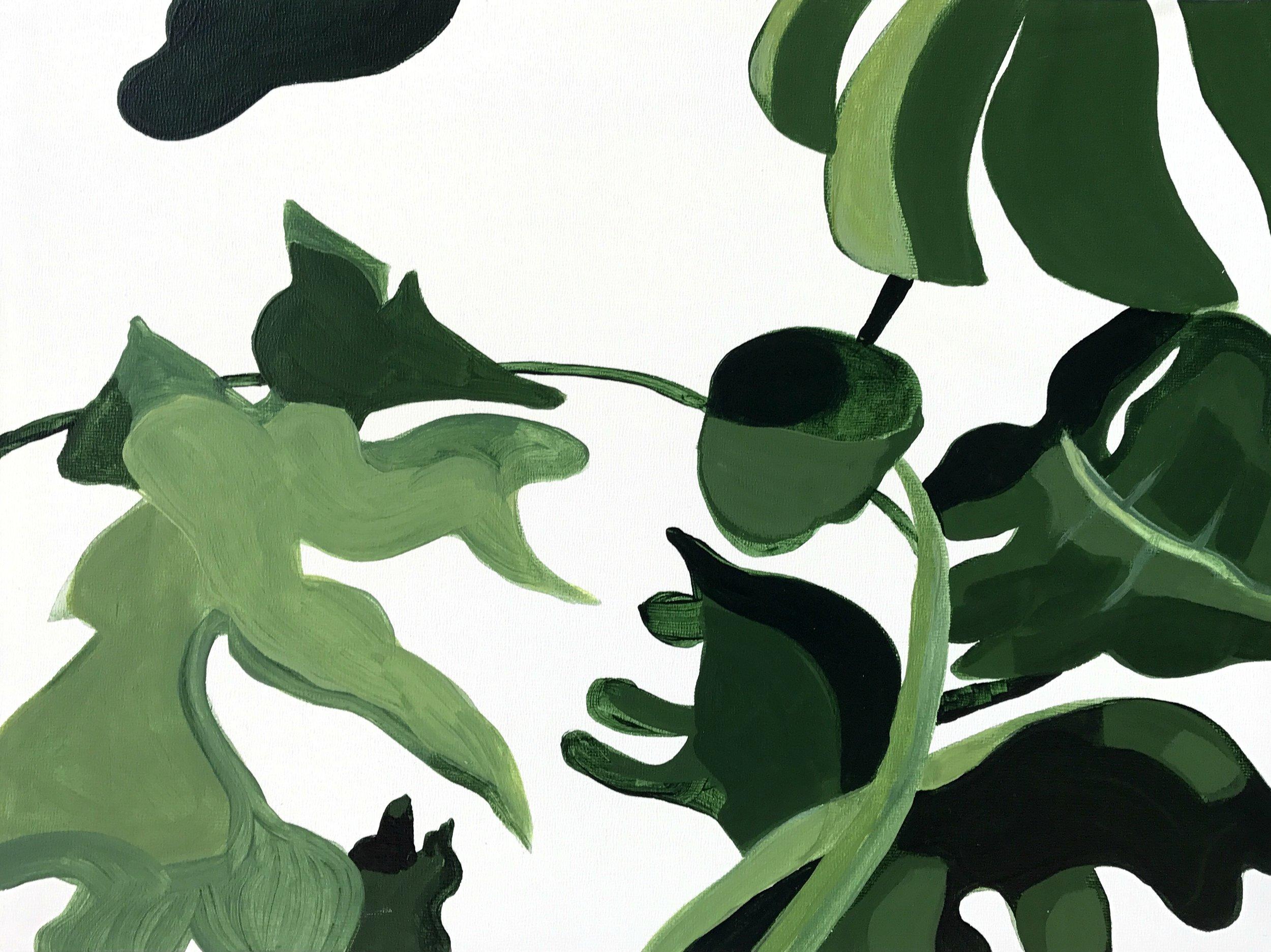 Split Leaf II