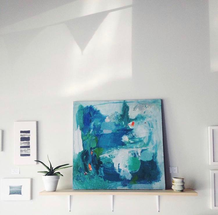 Epoch, 60 cm x 60 cm, oil on canvas