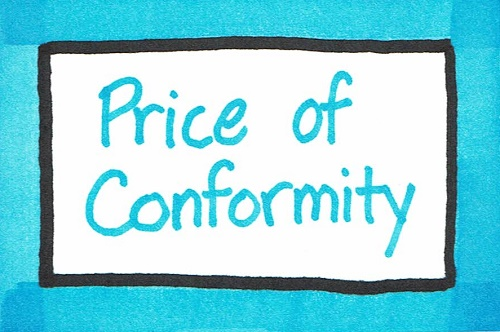 Price of Conformity