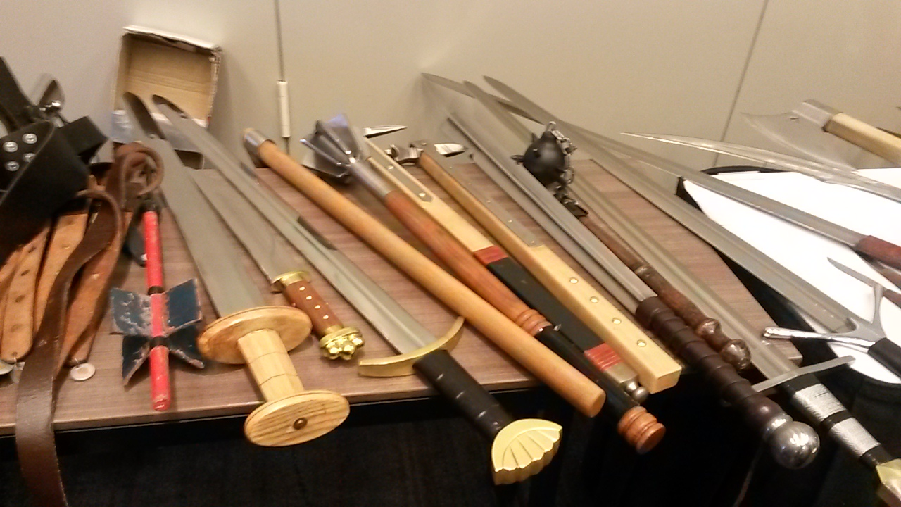 weapons display 2