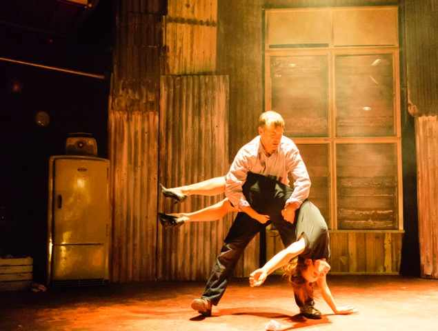 """""""It is engrossing, disturbing, text-based physical theatre, exceptionally well performed."""" -   Dance Australia"""