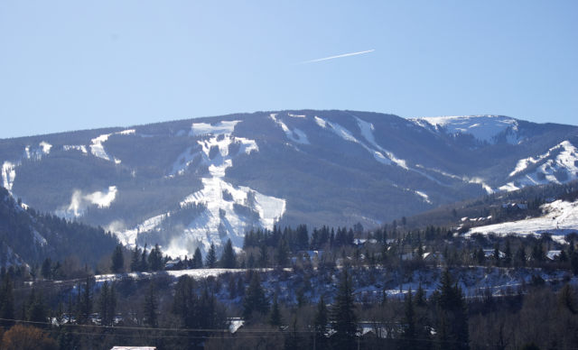 Recent photo of Beaver Creek taken in November that shows off the great early season snow coverage we have so far!