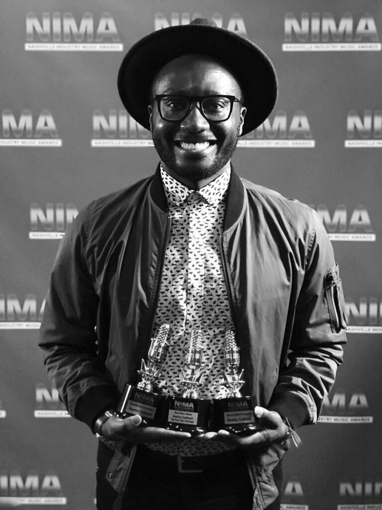 2018 winner of three Nashville Industry Music Awards (NIMA) - Best LIVE R&B/Soul PerformerBest R&B/Soul Male ArtistBest LIVE R&B/Soul Performer