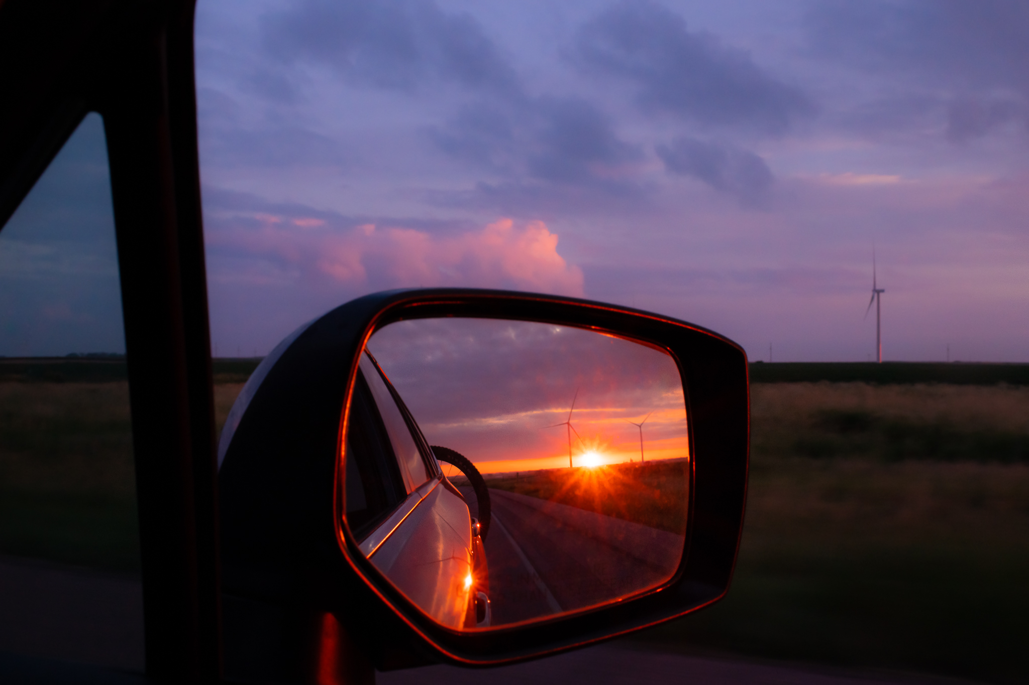 Somewhere in South Dakota heading back home.