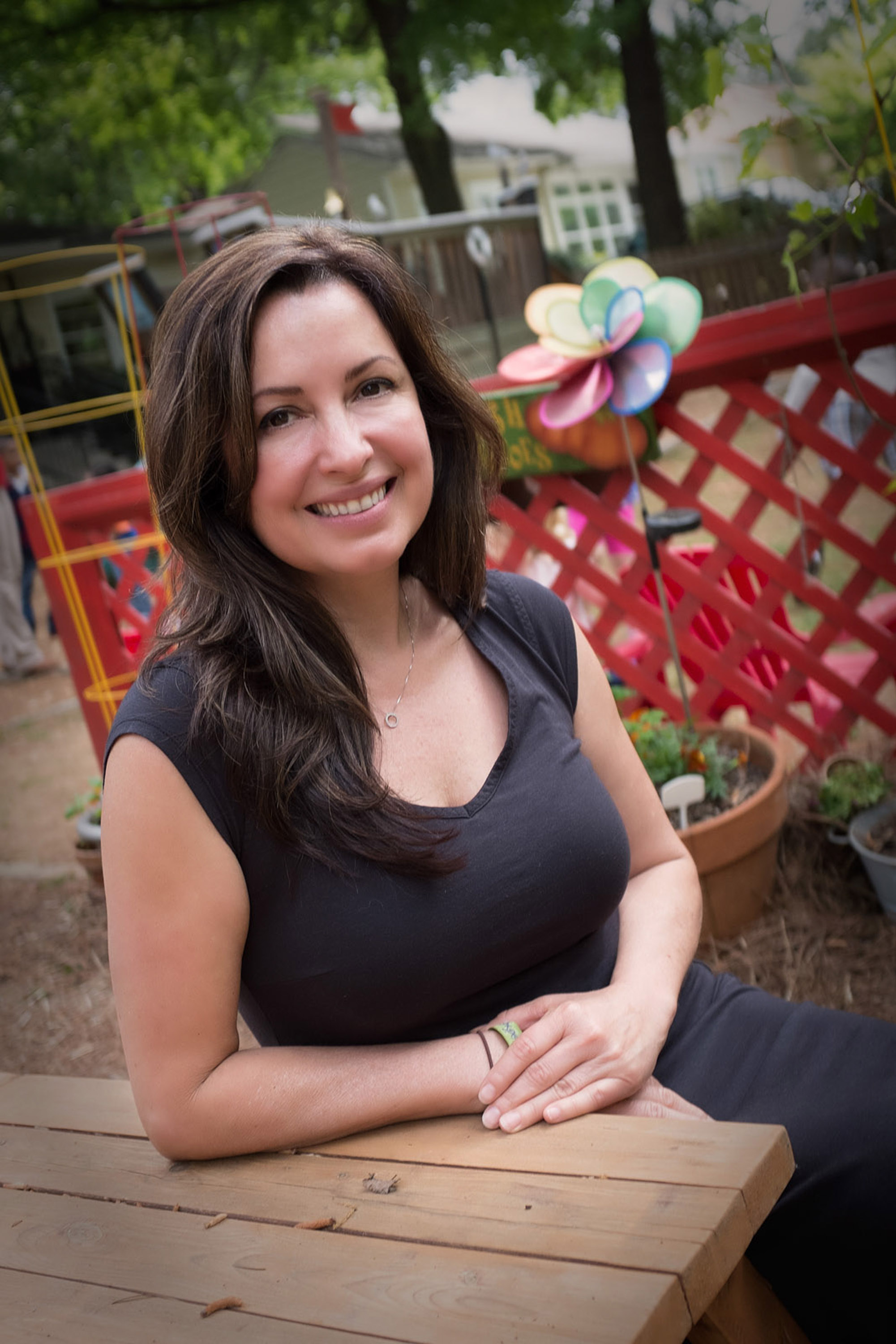 Gina Ward - Founder/Teacher/Director   AMI trained teacher and director with 24 years of experience in Montessori Education. For Ms. Ward, Montessori is not only a career, but a lifelong passion and commitment! The success of the two school's Ms. Ward has founded and directed, is attributed to highly trained staff members, hundreds of students who have thrived and blossomed under their devoted direction and the word of mouth from satisfied parents. Gina is also a Consultant for new Montessori Schools and Parent Coaching. On her off time she enjoys reading about health and nutrition, cooking, gardening, traveling and spending time with friends and family.