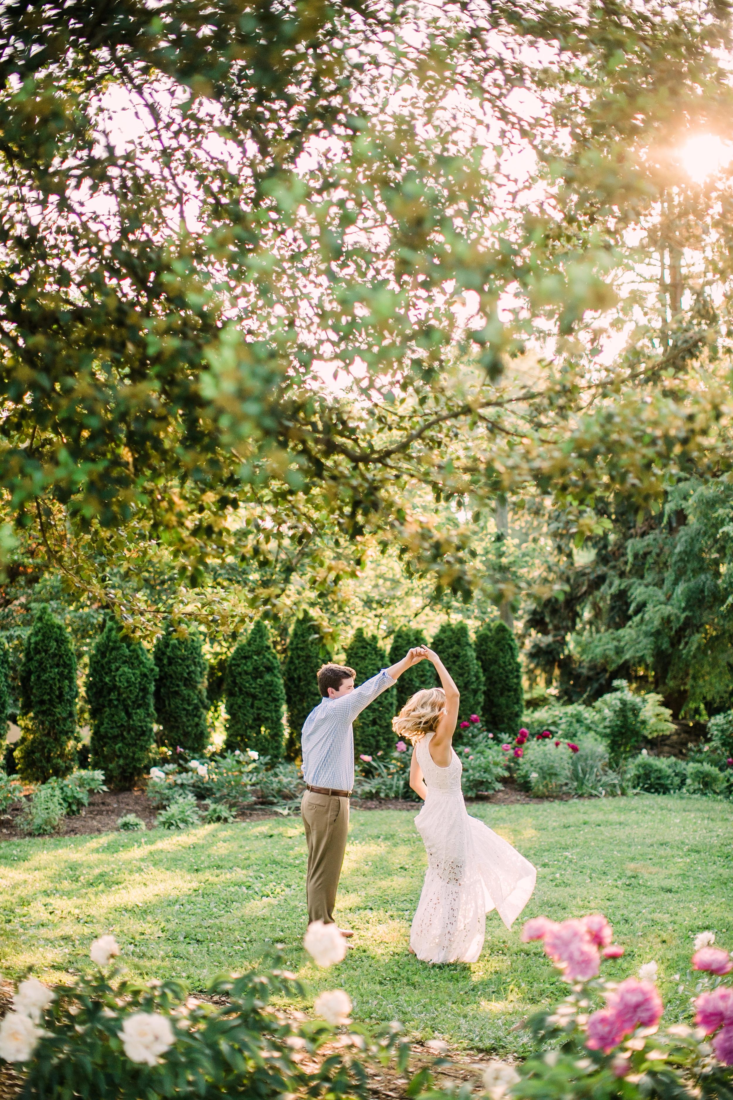Knoxville Botanical Garden Engagement