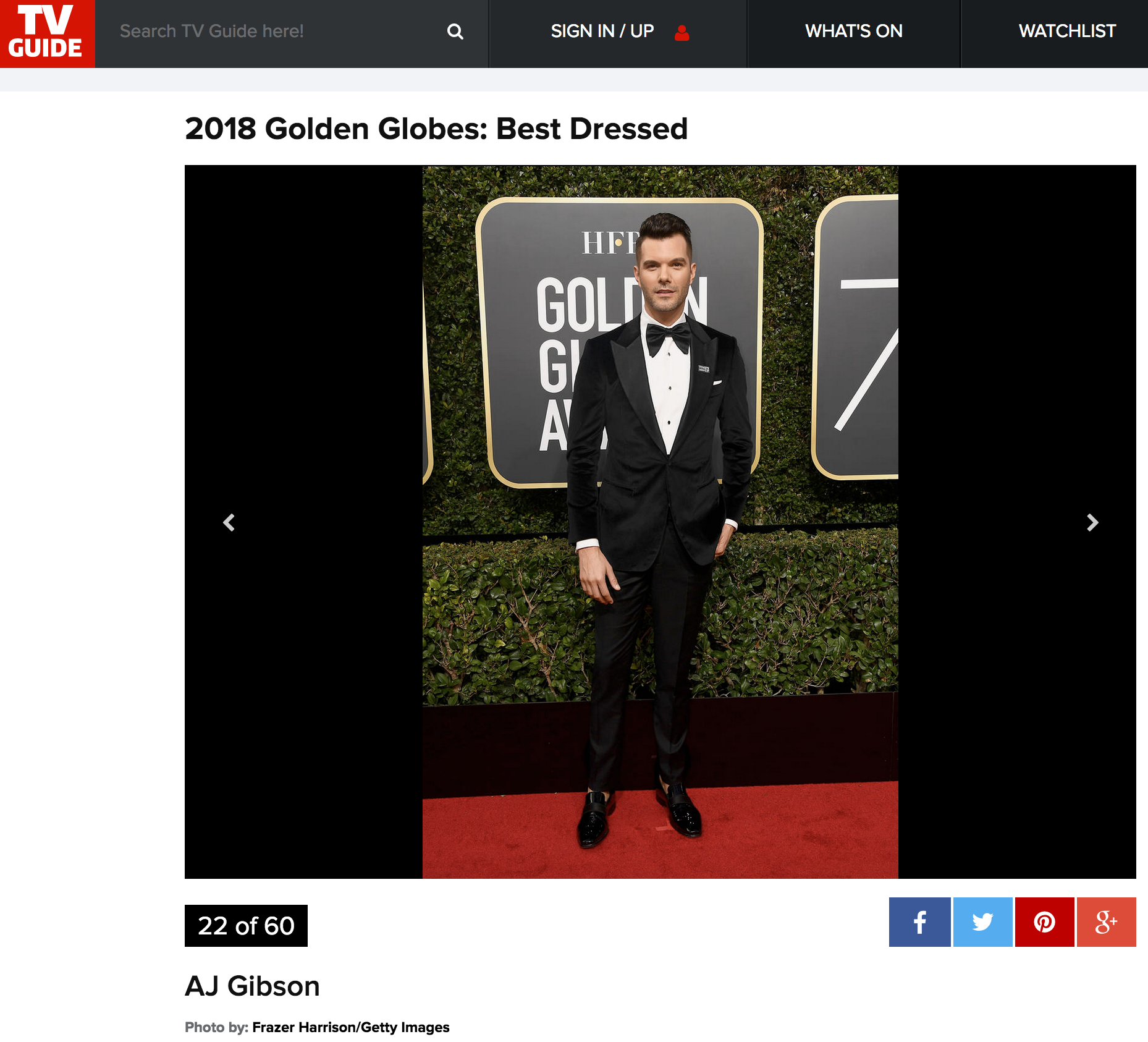 2018 Golden Globes: Best Dressed