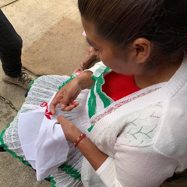 In love with Mazahua embroidery... #embeddedpatterns #patterns #craft #embroidery #traditionalcraft #art #artdesign #mazahua #mazahuaembroidery #JohnTakamura @missleeleeleelee @asuherberger @asunow @asuschoolofart @asudesignschool @asu #asu
