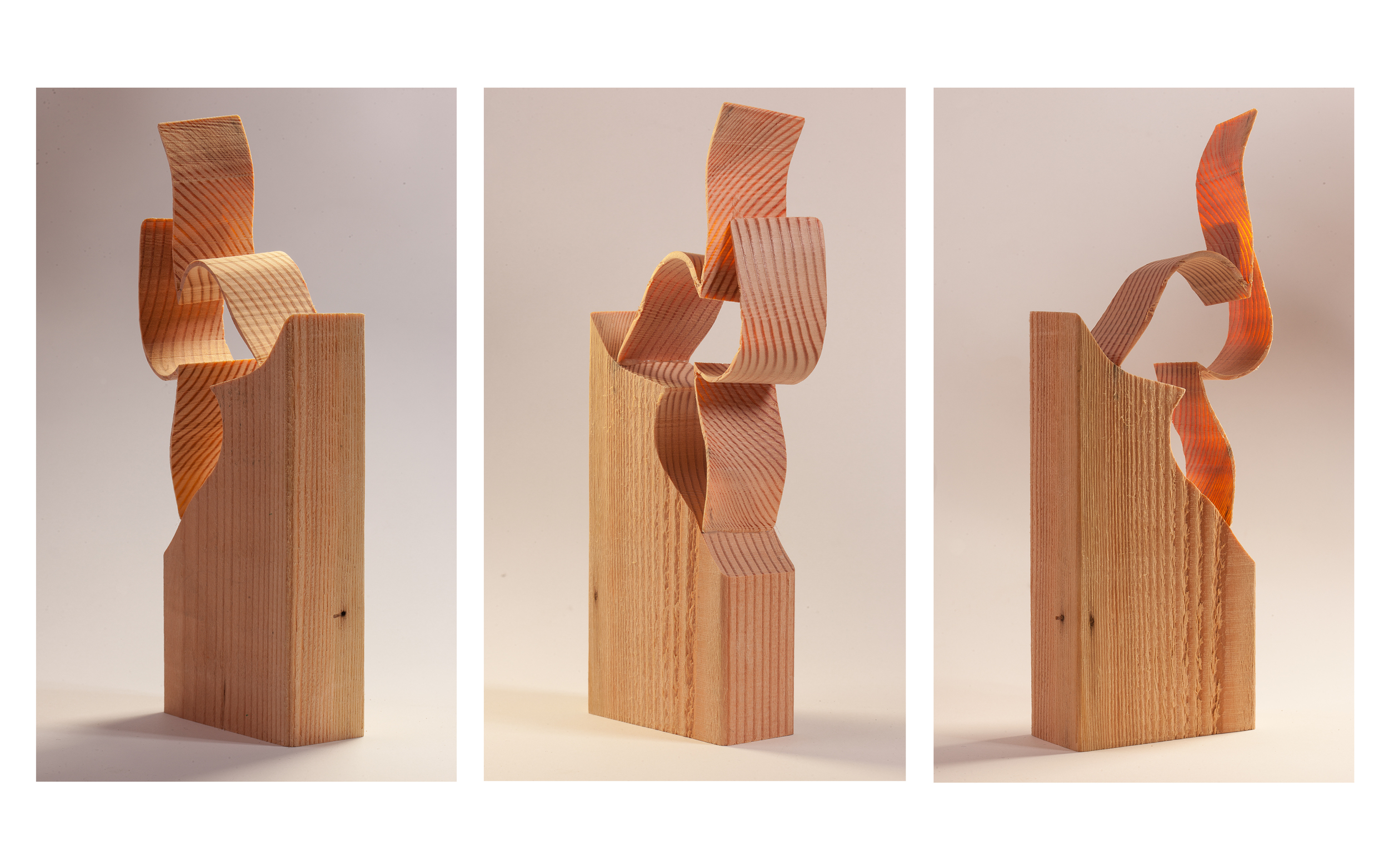"Copy of ""Untitled Wood"", 2014, Wood, 10"" x 2"" x 3.5"""