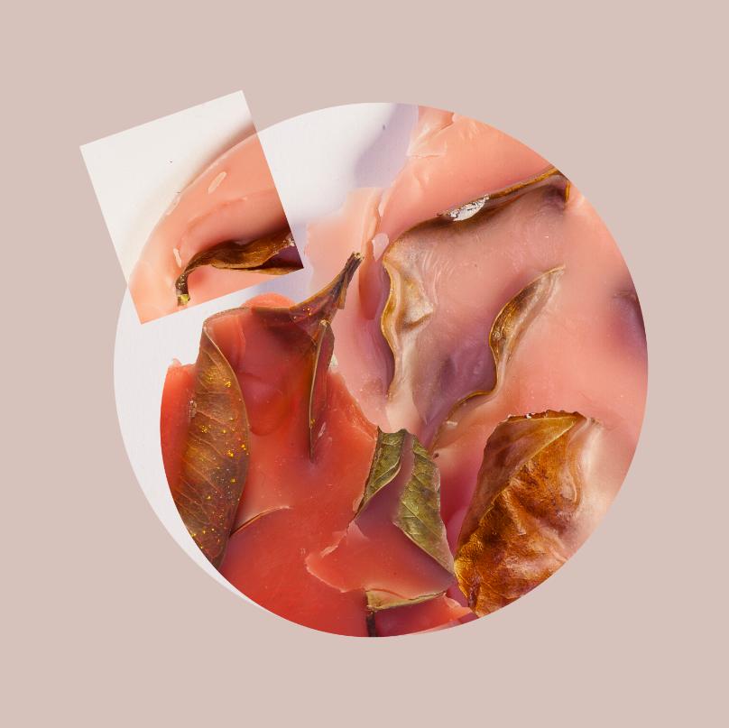 """Acrylic Flesh II, 2014, Photographic collage, 20"""" x 20"""", 7/7"""