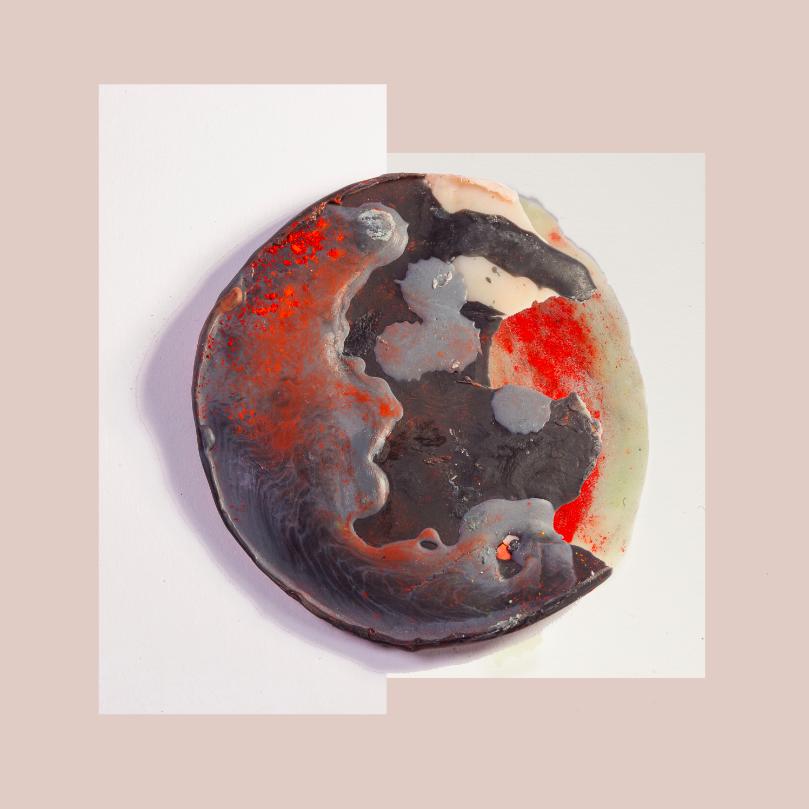 """Acrylic Flesh III, 2014, Photographic collage, 20"""" x 20"""", 7/7"""